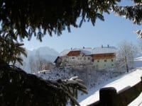 Waldpension Ranner im Winter