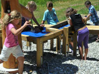Kinderwasserspielplatz