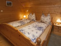 Schlafzimmer/Familienalmhaus