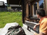 Relaxen vor der Hütte (© Prokop)