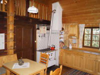Tröbacheralm Hütte - Wohnküche
