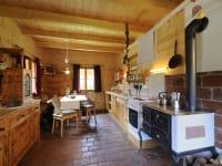 Wohnküche Kärntner Ferien- Holzhaus