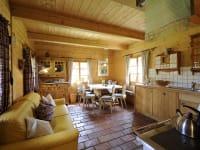 Wohnküche Historisches Almhaus