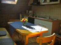 Küche in der kleineren Wohnung