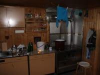 Hier die Küchenansicht, wie sie genutzt wird...