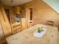 Küche Ferienwohnung Unterdach