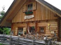 Hütte Front