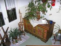 Alte wertvolle Antiquitäten im Haus..