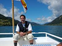 Bootsfahrt am Weissensee