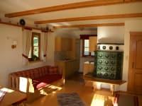 Wohnzimmer, Küche Dobratschblick