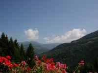 Blick vom Ferienhausbalkon