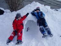 Wir bauen ein Iglo