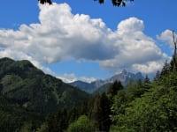 Aussicht Ebriach/Bad Eisenkappel