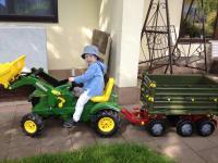 Wo hat der Bauerer seinen Traktor?