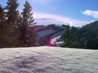 Winterpanorama, Pisten