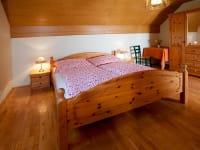 Schlafzimmer Koralmblick