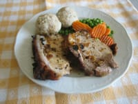 Roast pork - good country cooking