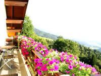 am Balkon