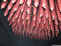 Kollmannbauers Haussalami in der Selch