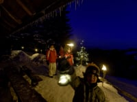 Panoramahütte Weihnachten