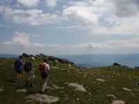 Wanderung Geierkogel mit Blick aufs Lavanttal