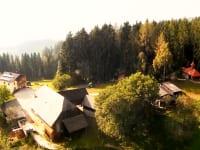 Stroneggerhof aus der Luft