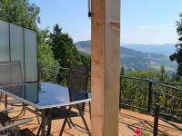 Aussicht vom Balkon Haus Bella Montana