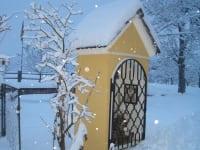 Marterl im Winter