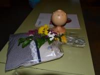 Geschenk an die geehrten Gäste
