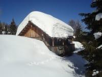Sauna-Blockhütte