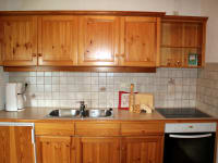 Küche Morgensonne