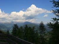 Aussicht von der Hütte