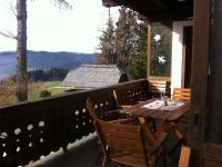 Balkon Wohnung Bergblick