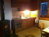Küche Wohnung Bergblick