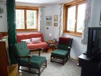 Lese-/TV-Ecke Wohnung Tschamutsch