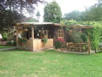Unsere gemütliche Grillhütte