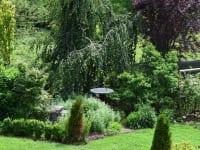 Blick auf unserem Garten