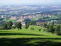 Panoramafoto von unserem Bauernhof