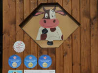 Biohof Haunschmid-Eingang in unserern Milchviehstall