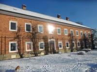 Hausfront Winter-