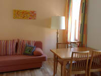 Wohnzimmer Ferienwohnung Vierkanter