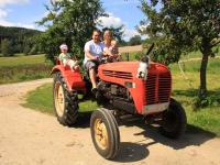 Unser Oldie Traktor