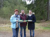 Gäste beim Nesterlsuchen