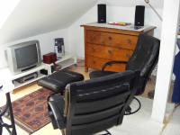 Haus Haider - Lese- und Fernsehecke