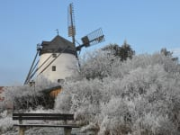 Winter in Retz Windmühle