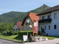 Radlerhof Kienesberger am Fuße der Ruine Aggstein
