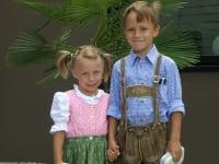Familie Rosenberger - Kinder Lisa und Josef