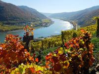 Herbstlicher Ausblick vom Tausendeimerberg