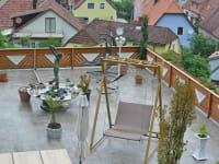 Gästehaus zur schönen Aussicht - Terrasse