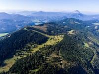 Luftbild von der Alm
